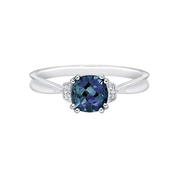 Created Alexandrite Ring