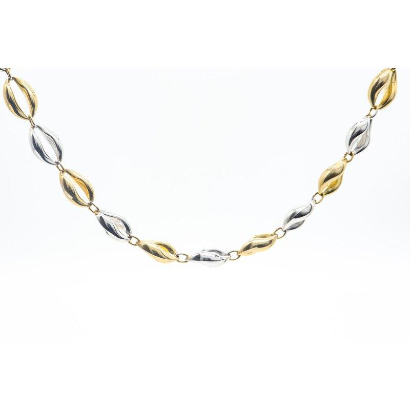 Richardson Signature Fancy Link Two-Toned Necklace