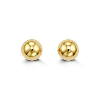 8mm Yellow Gold Balls