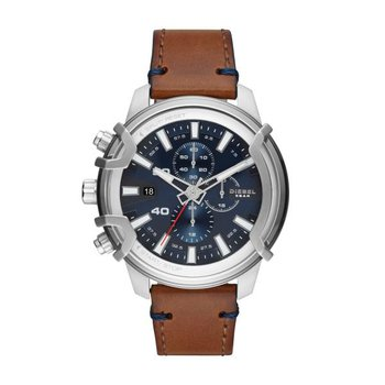 Griffed Chronograph Leather Strap Watch