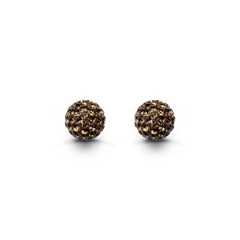 10K Firecracker Studs: Chocolate