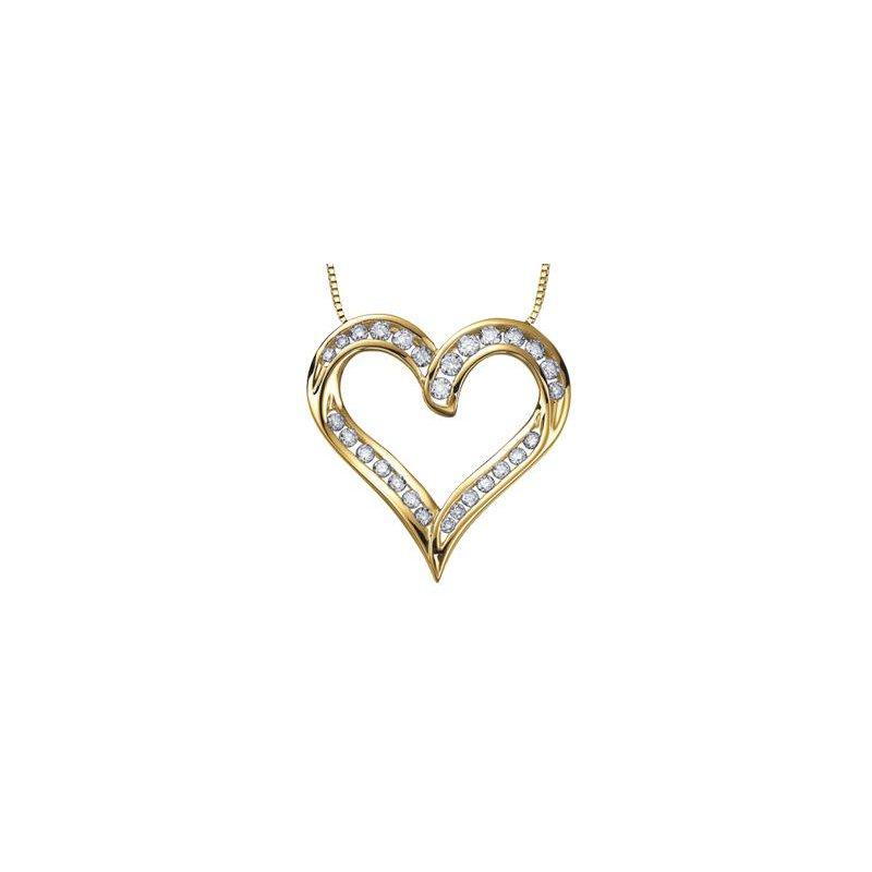 Diamond Days Diamond Heart Pendant