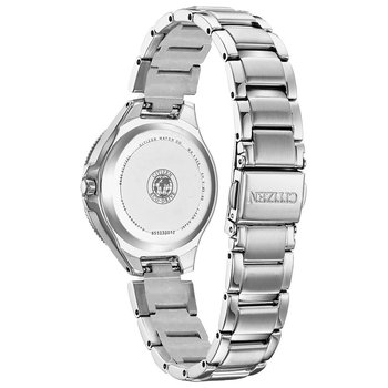 Ladies Eco-Drive Watch- Silhouette Crystal