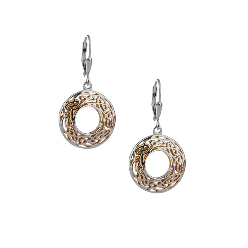 Keith Jack  Window to the Soul Round Earrings