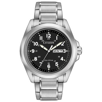 Men's Eco-Drive Watch- Garrison