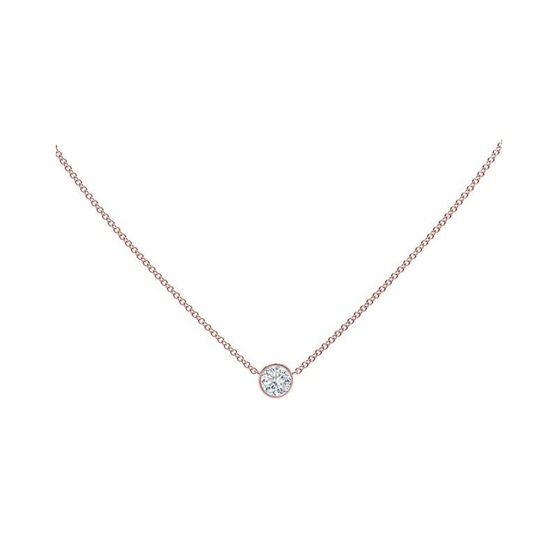 Forevermark The Forevermark Tribute™ Collection Round Diamond Necklace
