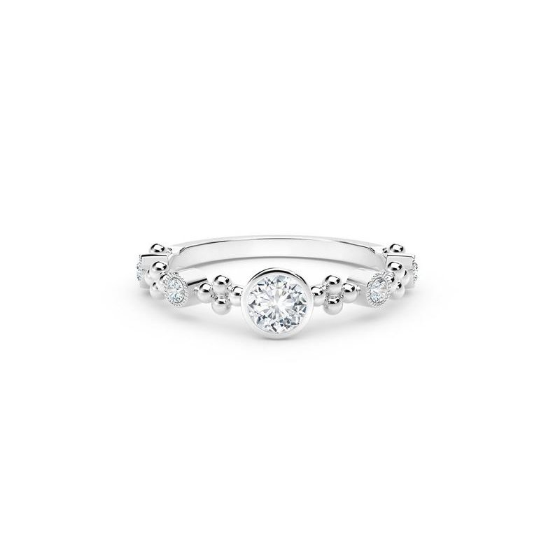 The Forevermark Tribute™ Collection Feminine Diamond Ring