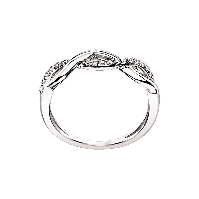 Kux Collection Diamond Infinity Band