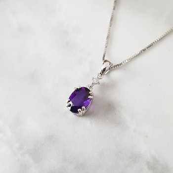Must-Have Double Prong 3/4CT Pendant