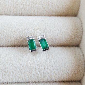 Princess Emerald Earrings