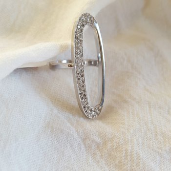 Oval Open Ring