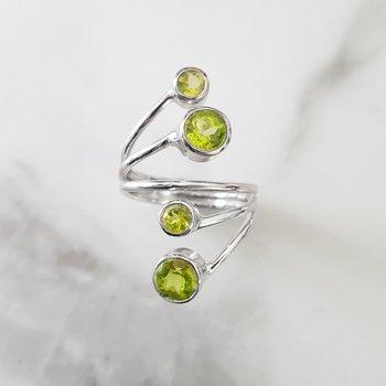 Bubble Bezel Ring