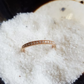 Rose Gold Stacker Ring