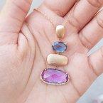 Allison-Kaufman Multi-Gem Necklace