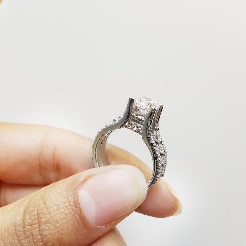 Triple Row Ring