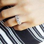 Sami Fine Jewelry Triple Row Ring
