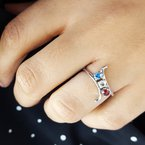 American Gem Collection™ American Pride Ring