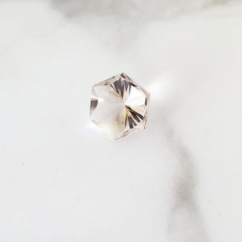 "Star Hexagon NY Herkimer ""Diamond"""