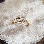 Sami Fine Jewelry Looped Diamond Ring