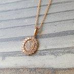 Sami Fine Jewelry Rose Cluster Necklace