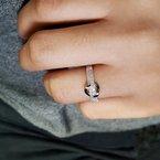 Sami Fine Jewelry Diamond Loop Ring