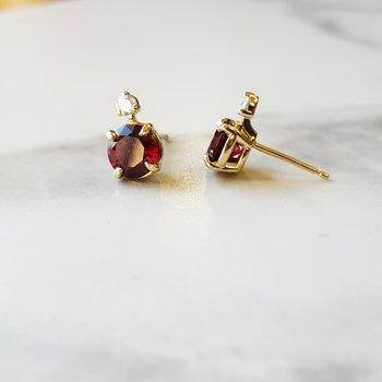 Accented Stud Earrings