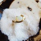 Sami Fine Jewelry Opal Swoop Ring