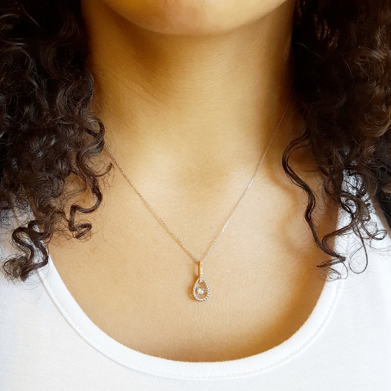 Sami Fine Jewelry Dancing Diamond Pendant
