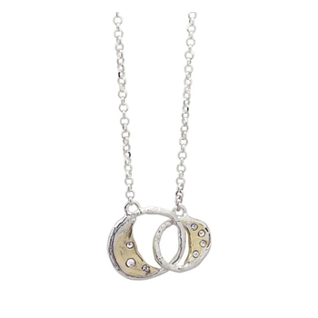 Otherworld Necklace - Joined Moons