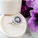 Sami Fine Jewelry Vintage Sapphire Ring