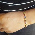 Sami Fine Jewelry Arizona Gemstones Tennis Bracelet