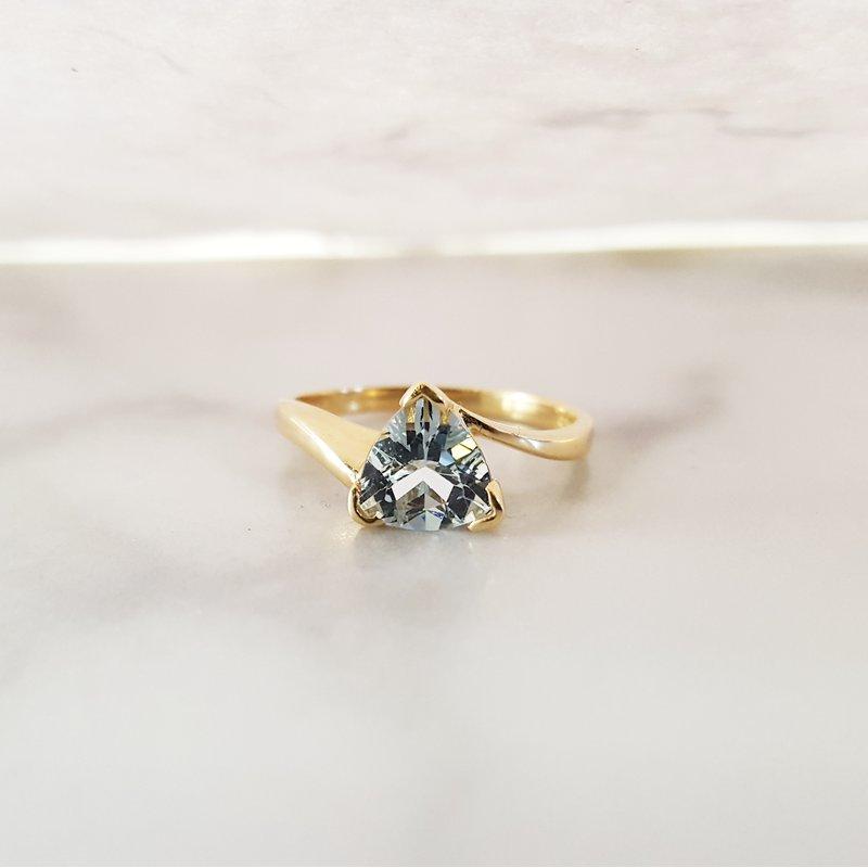 Sami Fine Jewelry Aquamarine Ring