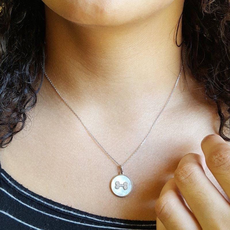 Sami Fine Jewelry Dog Love Pendant