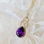Arizona Amethyst™ Gold Jewelry Amethyst Knot Pendant