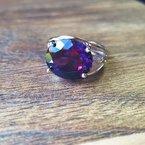 Arizona Amethyst™ Gold Jewelry Bold Oval Amethyst Ring