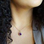 Arizona Amethyst™ Gold Jewelry Amethyst Artist Pendant
