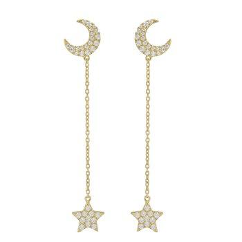 Celestial Diamond Studs