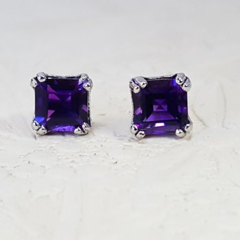 Double Prong Princess Studs