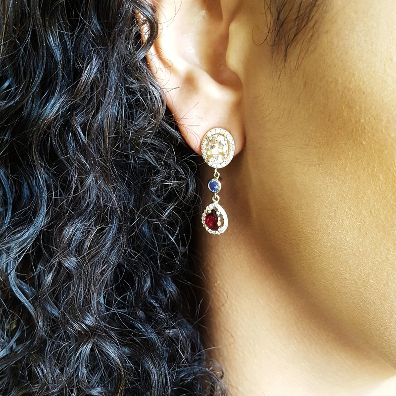 American Gem Collection™ American Dream Earrings