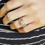 Sami Fine Jewelry Open Row Engagement Ring