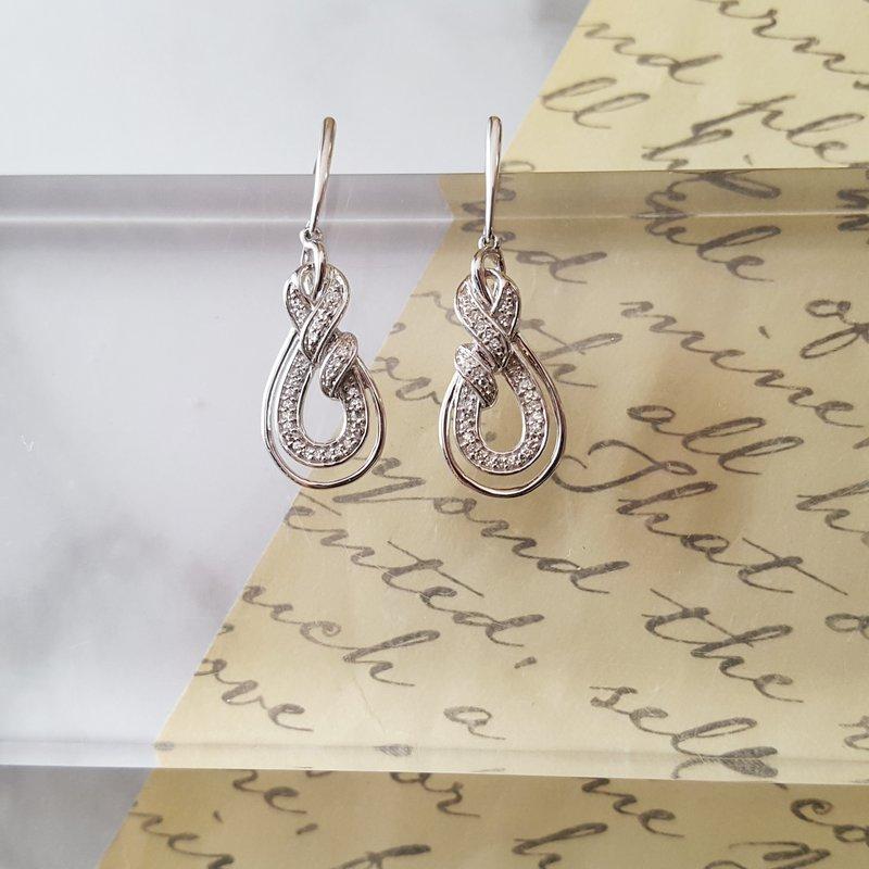 Sami Fine Jewelry Twist Earrings