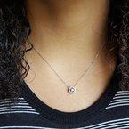 Sami Fine Jewelry True Reflections Halo Necklace