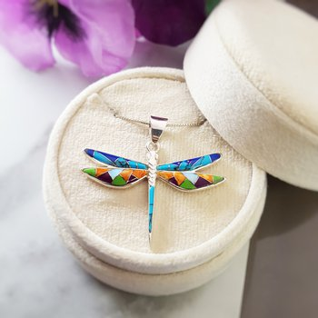 Mini Dragonfly Pendant