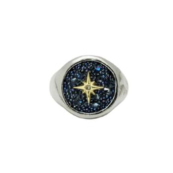 Inner Compass Signet Ring