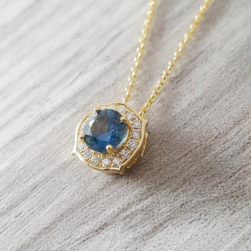 American Gem Collection™ Montana Sapphire Pendant