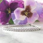 Sami Fine Jewelry Diamond Bezel Bracelet