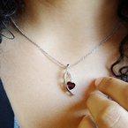 Arizona Anthill Garnet Gold Jewelry Garnet Cascade Pendant