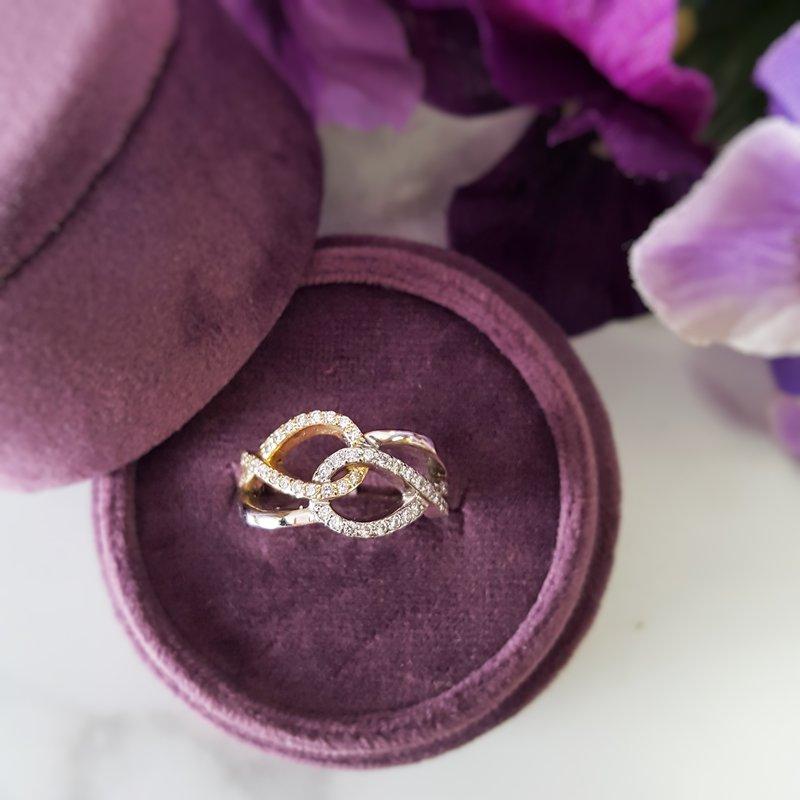 Sami Fine Jewelry Interlocked Ring