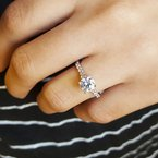 Sami Fine Jewelry Timeless Engagement Ring
