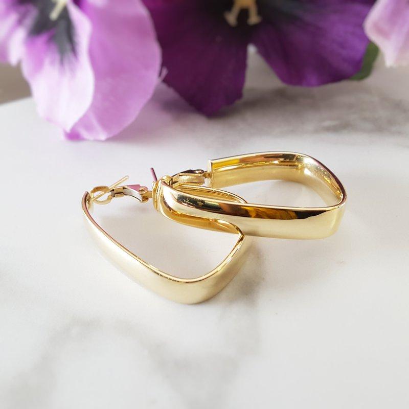 Sami Fine Jewelry Statement Hoops